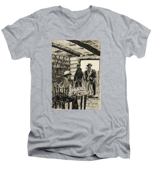 Cowboys Men's V-Neck T-Shirt