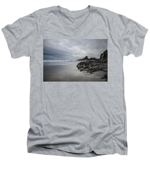 Cox Bay Afternoon  Men's V-Neck T-Shirt