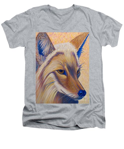 Coyote Summer Men's V-Neck T-Shirt