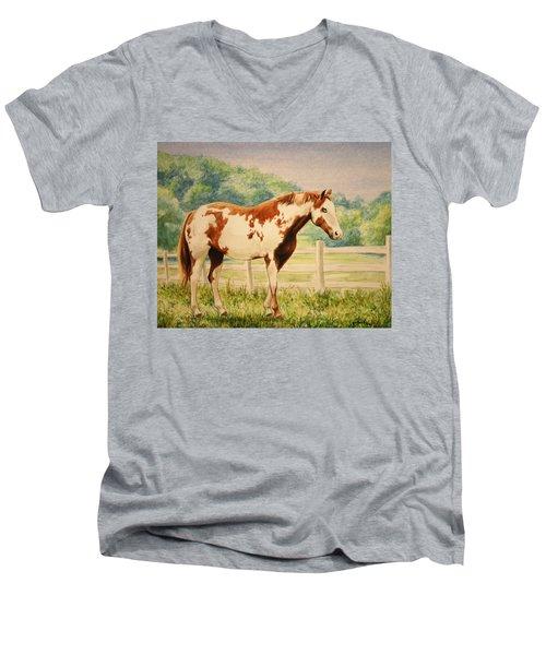 Cracker Men's V-Neck T-Shirt