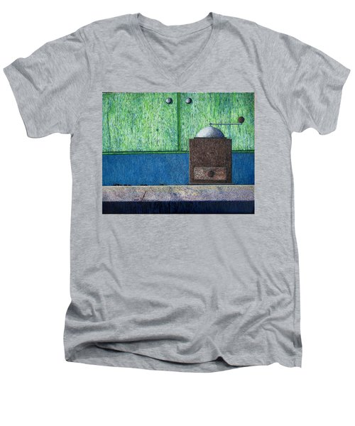 Crafting Creation Men's V-Neck T-Shirt by A  Robert Malcom