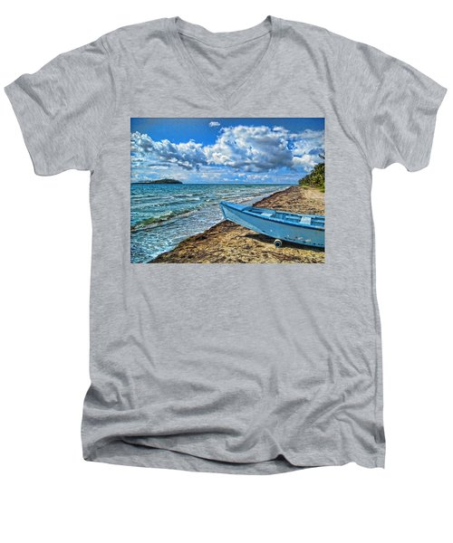 Crash Boat Men's V-Neck T-Shirt