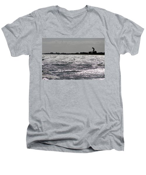 Creative Surfing Men's V-Neck T-Shirt