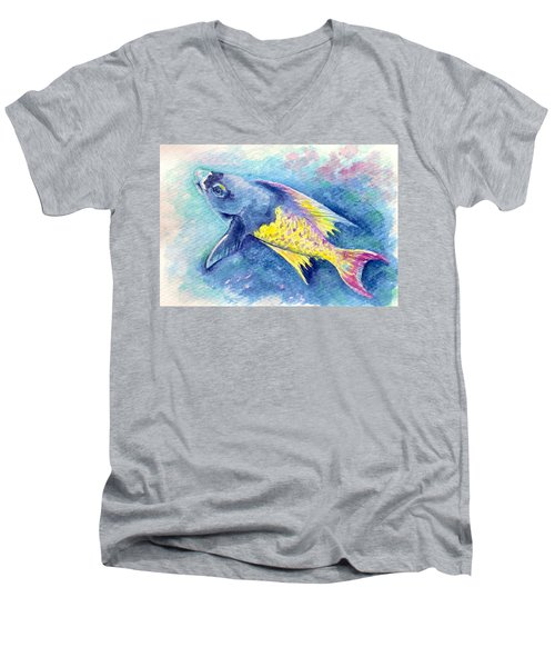 Creole Wrasse Men's V-Neck T-Shirt