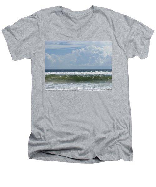 Cresting Wave Men's V-Neck T-Shirt