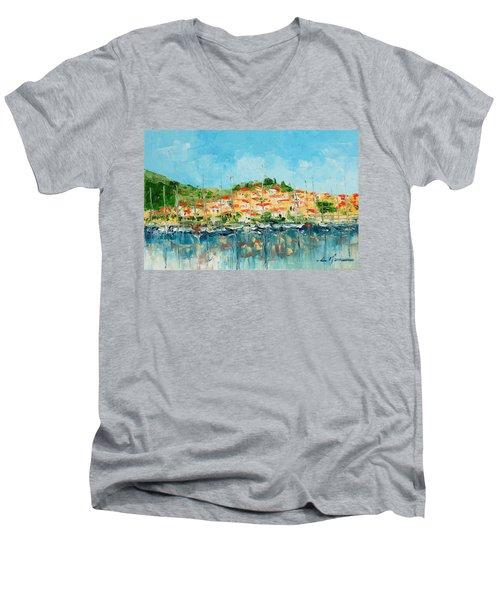 Croatia - Split Men's V-Neck T-Shirt