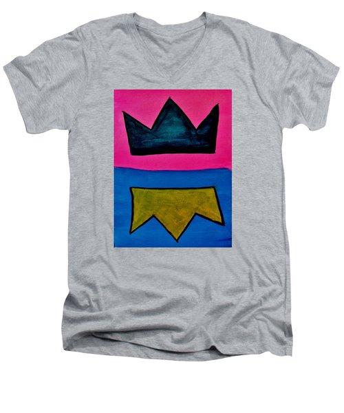 Crowns Men's V-Neck T-Shirt