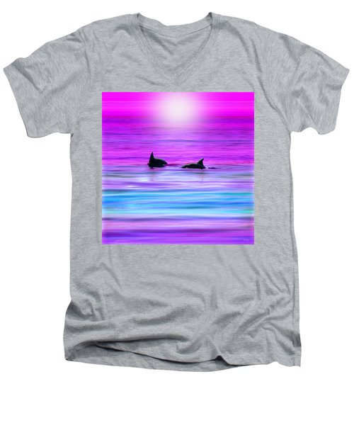 Cruisin' Together Men's V-Neck T-Shirt