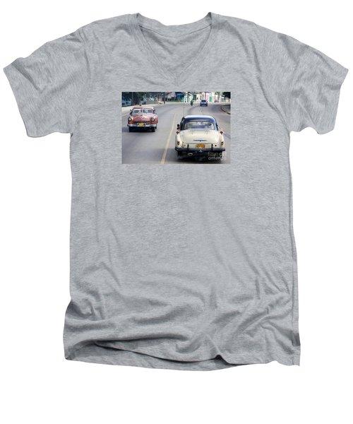 Cuba Road Men's V-Neck T-Shirt