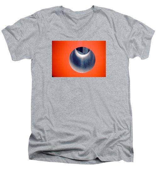 Cube Men's V-Neck T-Shirt by John Schneider