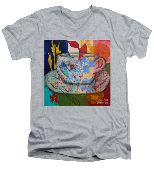 Cuppa Luv Men's V-Neck T-Shirt