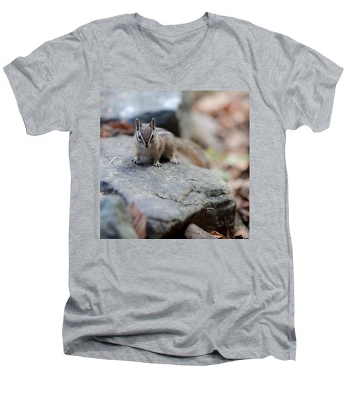 Curious Men's V-Neck T-Shirt