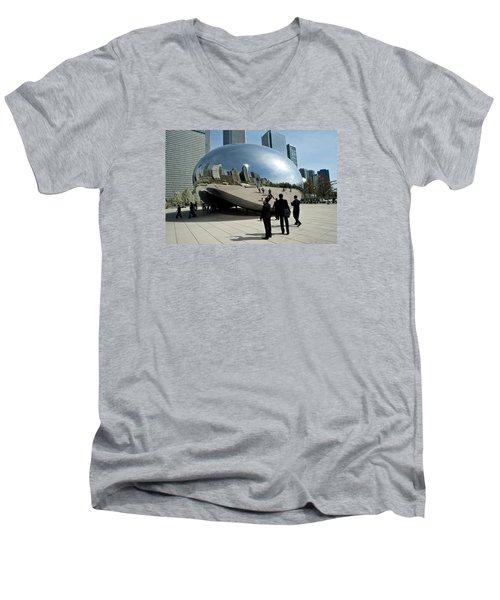 Curved Perception Men's V-Neck T-Shirt