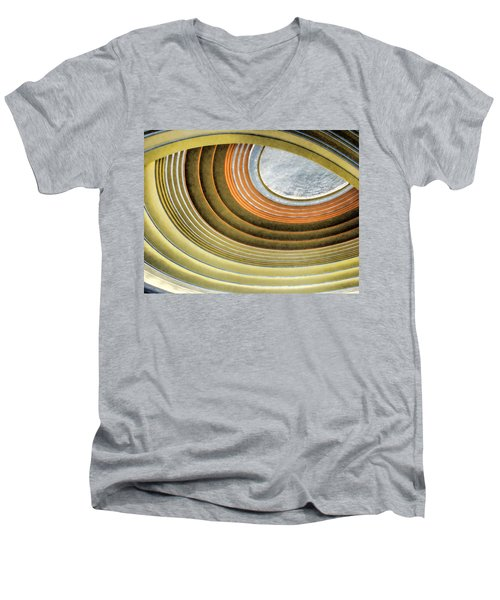 Curving Ceiling Men's V-Neck T-Shirt