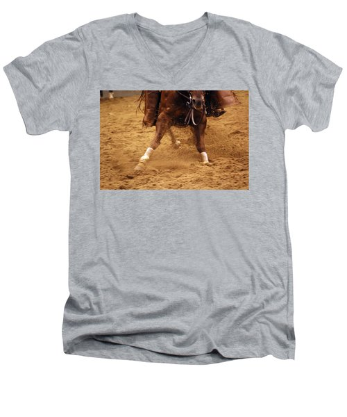 Cutting Horse 6 Men's V-Neck T-Shirt
