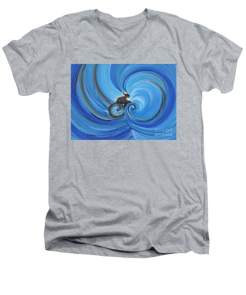 Cycle By Jrr Men's V-Neck T-Shirt