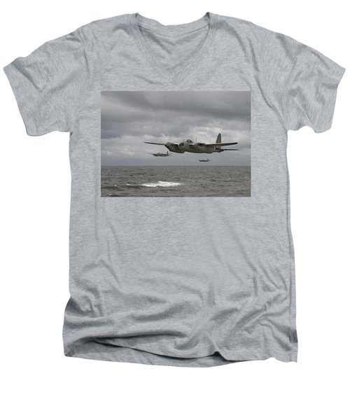 D H Mosquito Men's V-Neck T-Shirt