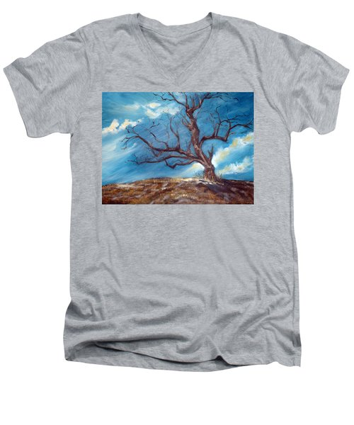 Daddy's Tree Men's V-Neck T-Shirt