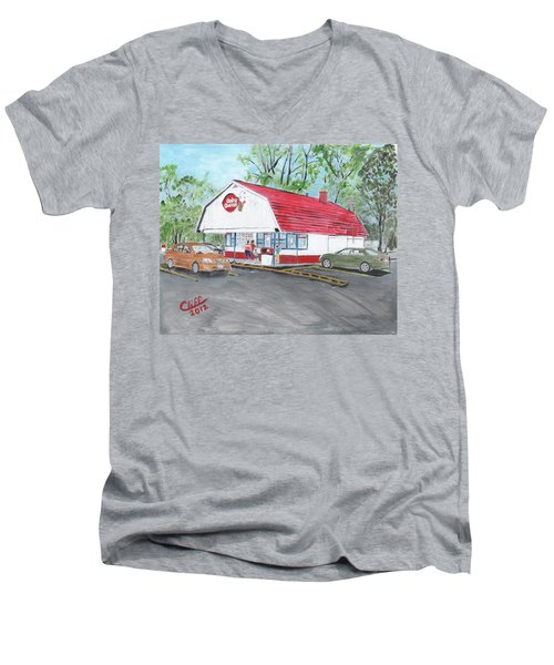 Dairy Queen  Men's V-Neck T-Shirt