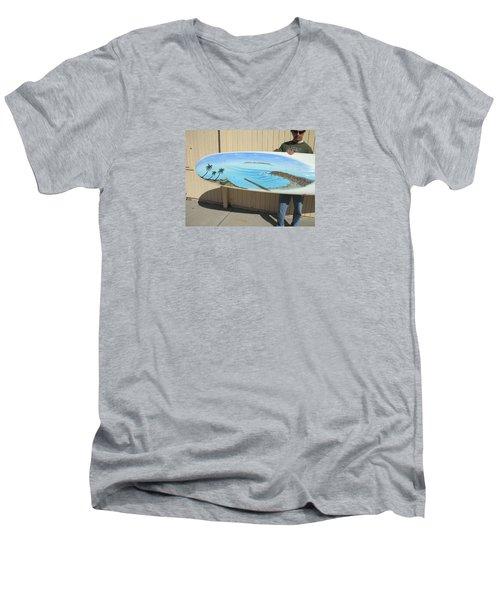 Dana Point 1950s Men's V-Neck T-Shirt