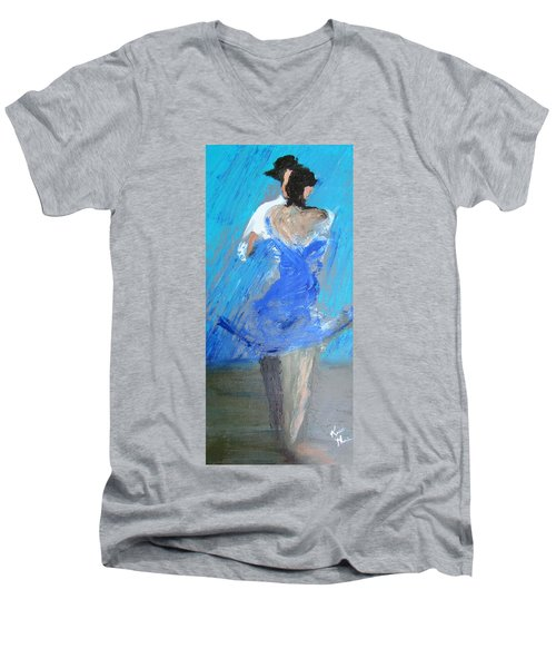 Dance In The Rain Men's V-Neck T-Shirt