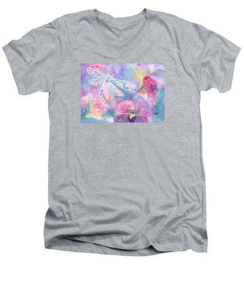 Dance Of The Dragonfly Men's V-Neck T-Shirt