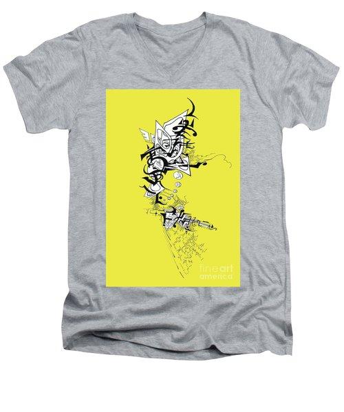 Dancing Angel Men's V-Neck T-Shirt