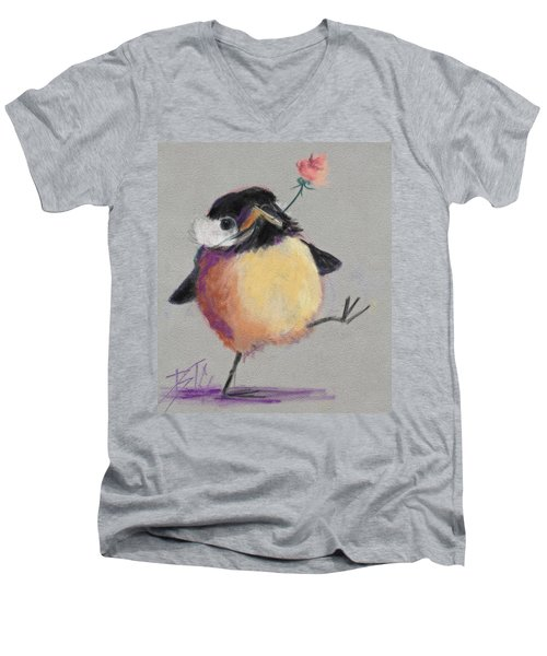 Dancing With Joy Men's V-Neck T-Shirt