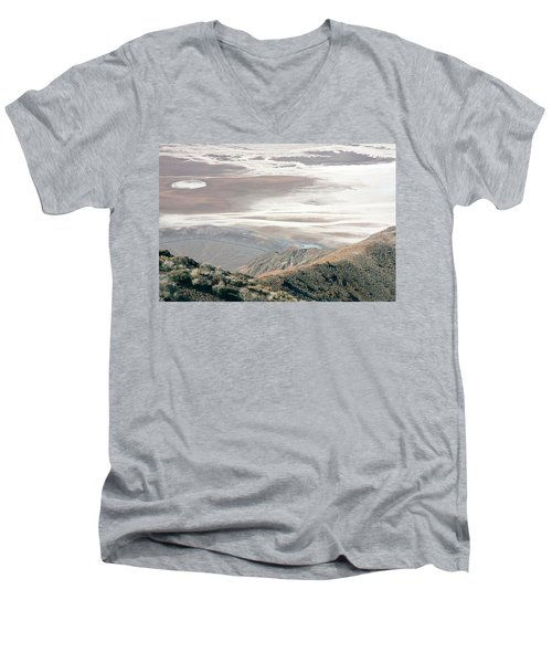 Men's V-Neck T-Shirt featuring the photograph Dante's View #1 by Stuart Litoff