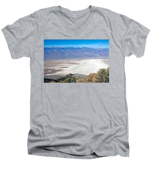 Men's V-Neck T-Shirt featuring the photograph Dante's View #3 by Stuart Litoff