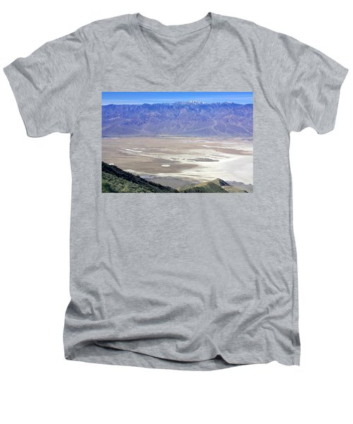 Men's V-Neck T-Shirt featuring the photograph Dante's View #4 by Stuart Litoff