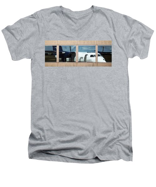 Dash Reflection Men's V-Neck T-Shirt
