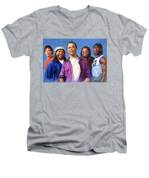 Dave Matthews Band Men's V-Neck T-Shirt