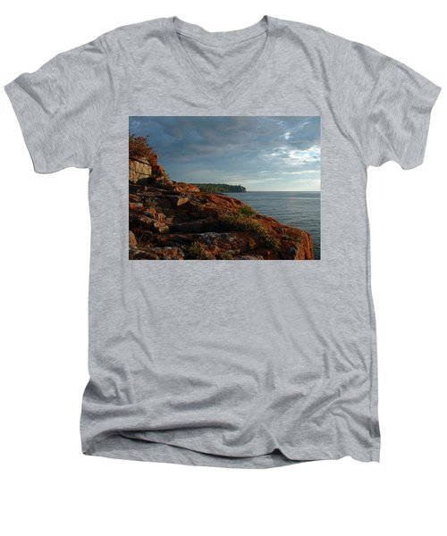 Daybreak At Campsite 19 Men's V-Neck T-Shirt