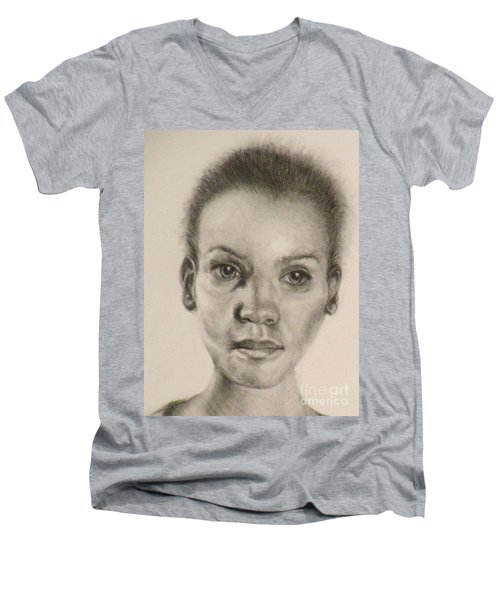 Daydreams Drawing Men's V-Neck T-Shirt