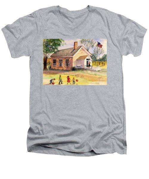 Days Gone By Men's V-Neck T-Shirt