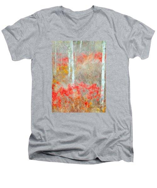 Days Of Autumn Joy Men's V-Neck T-Shirt