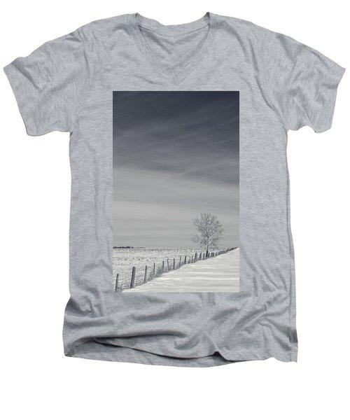 Days Turn Into Months Men's V-Neck T-Shirt
