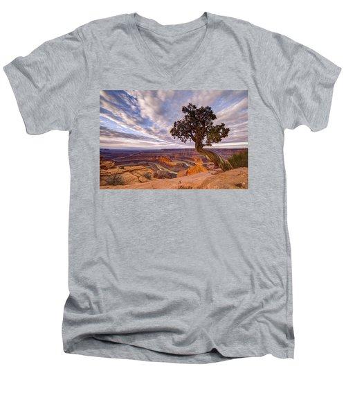 Dead Horse Point Sunrise Men's V-Neck T-Shirt