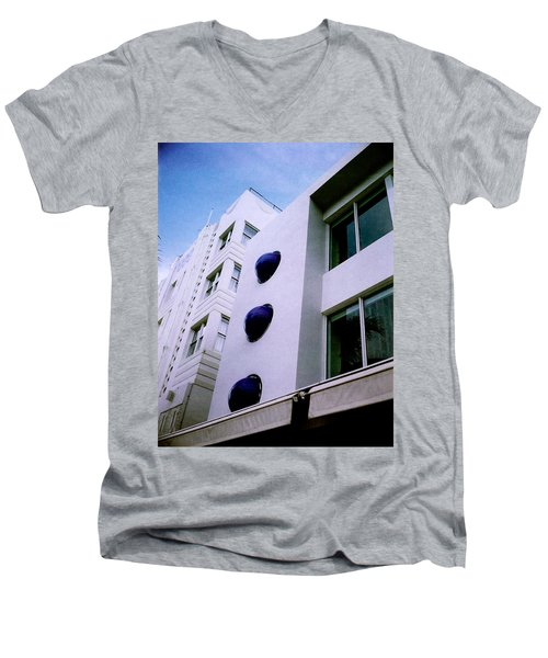 Deco Drive Polaroid Men's V-Neck T-Shirt