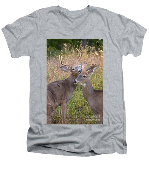 Deer 49 Men's V-Neck T-Shirt