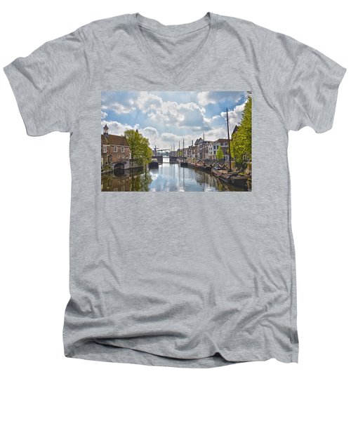 Delfshaven Rotterdam Men's V-Neck T-Shirt