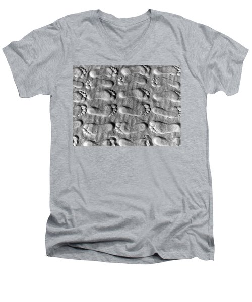 Deliberately Grainy Men's V-Neck T-Shirt