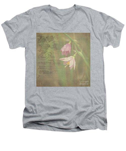 Delicate Blooms Men's V-Neck T-Shirt