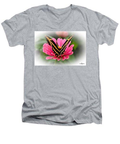 Delicate Touch Men's V-Neck T-Shirt