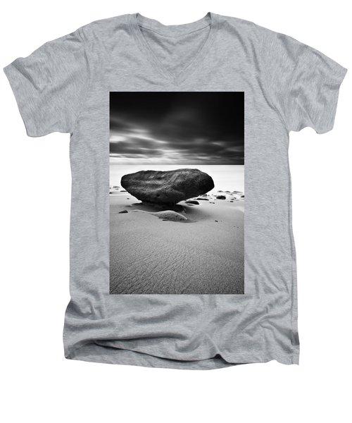 Delicated Balance Men's V-Neck T-Shirt