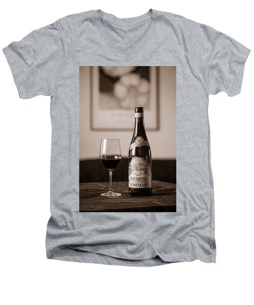 Delicious Amarone Men's V-Neck T-Shirt by Ari Salmela