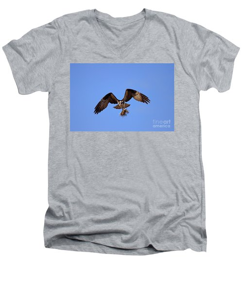 Delivery By Air Men's V-Neck T-Shirt