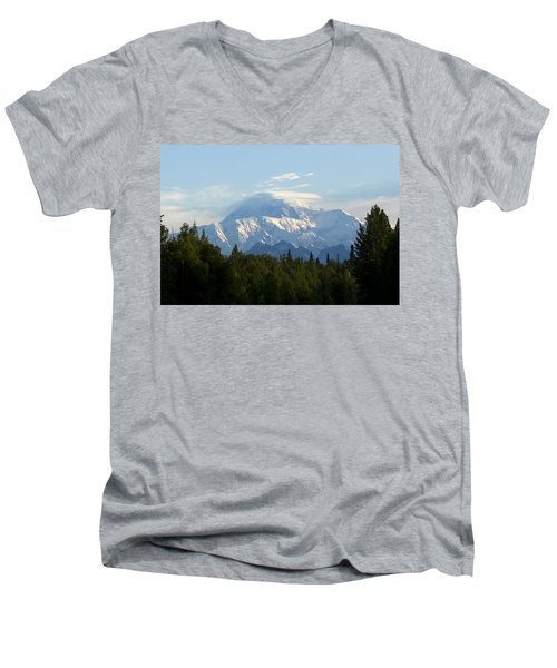 Denali A Closer Look Men's V-Neck T-Shirt by Tara Lynn