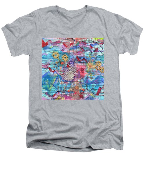 Density Of States Men's V-Neck T-Shirt